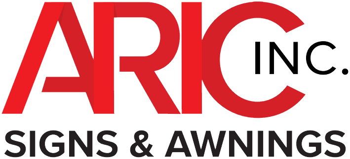 Aric Signs & Awnings home page logo